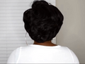 Hairsleisure Gorgeous Short Wave African American | Human Wig Black Wig