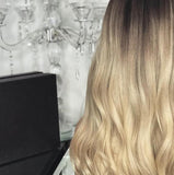 Hairsleisure Gradual Champagne Color Long Wave Light Gold Wig