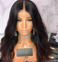 Hairsleisure Janet Couture Bleached Knots Long Wavy Black Wig