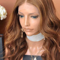 Hairsleisure Long Wavy Light Gold 360 Lace Wig 100% Virgin