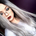 Hairsleisure Long Straight Cara Front Gray Dark Roots Wig Human Hair Lace