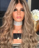 Hairsleisure Long Golden Curls 360 Lace Wig Pre Plucked Lace Frontal Wig