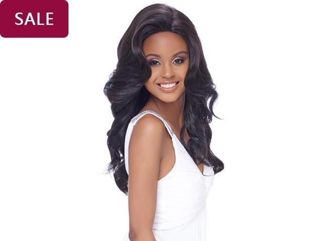 Hairsleisure Swiss Silk Base Naturl Loose Wavy 360 Lace Wig Pre Plucked Lace Frontal Wig