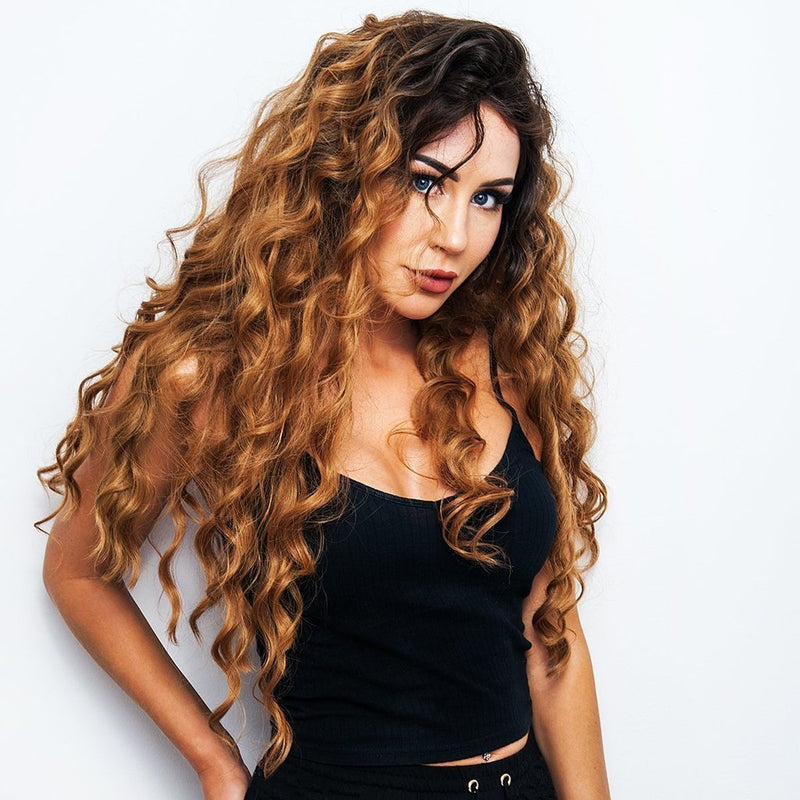 Hairsleisure Lioness Front Long Brown Wig for Women