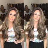 Perfect Balayage Curly Wig