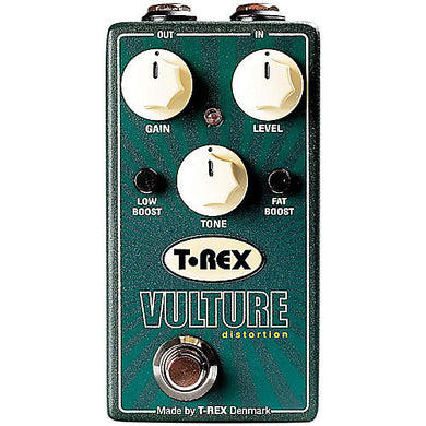 T-Rex Vulture Distortion Pedal with Boost