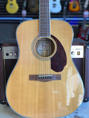Fender Paramount Series PM-1 Standard Dreadnought Acoustic-Electric Guitar Natural