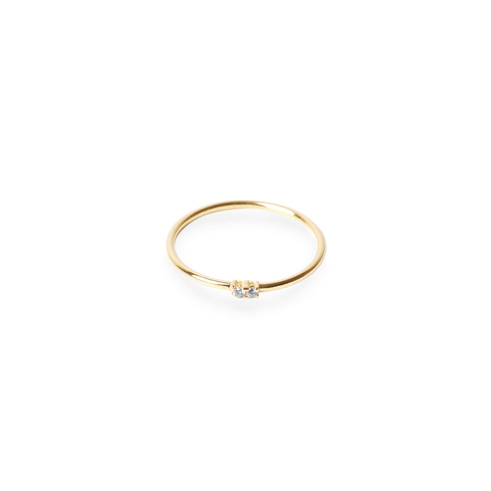ANILLO TWO DREAMS ORO AMARILLO 18K (STOCK 24/72h)