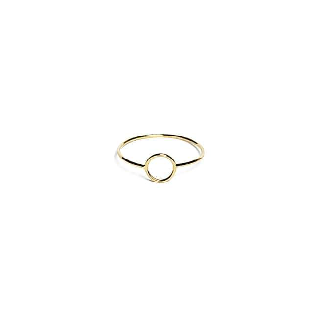 ANILLO CIRCLE ORO AMARILLO 18K (STOCK 24/72H)