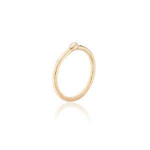 PENDIENTE LITTLE HOOP ORO 18K (STOCK, 24/72H)