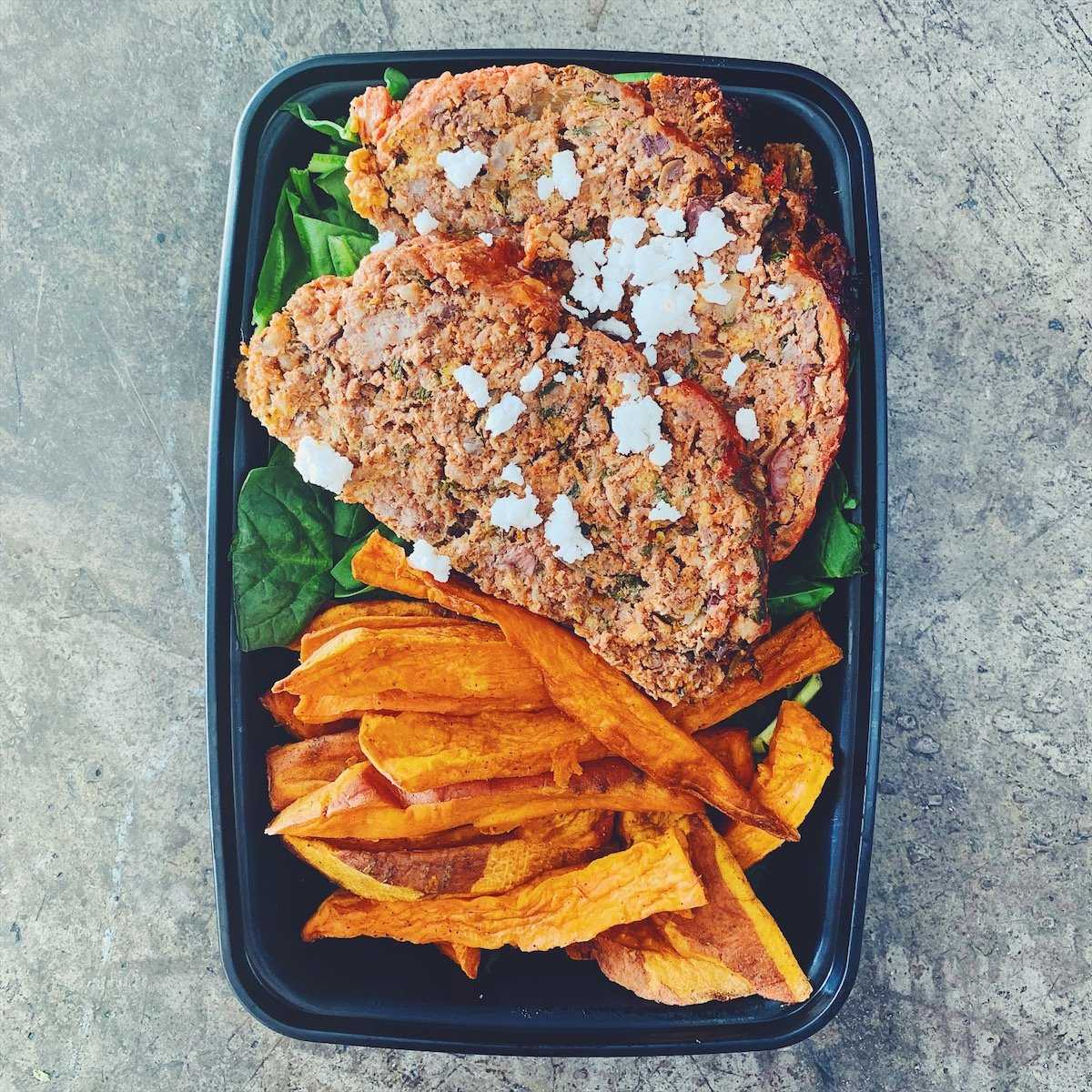 MEATLOAF AND FRIES | REFUL.CO