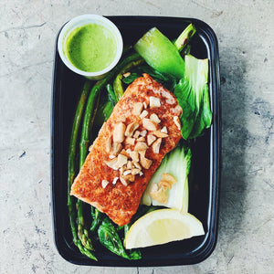 LEMON GARLIC SALMON | REFUL.CO