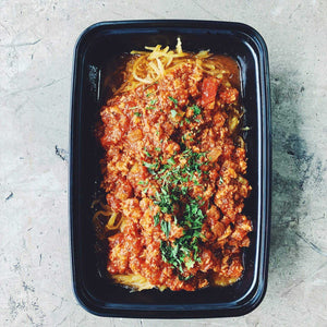 SPAGHETTI SQUASH CHICKEN RAGU | REFUL.CO