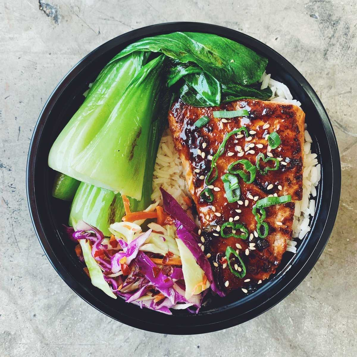 TERIYAKI SALMON BOWL | REFŪL