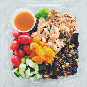 ORANGE SALMON SALAD | REFUL.CO