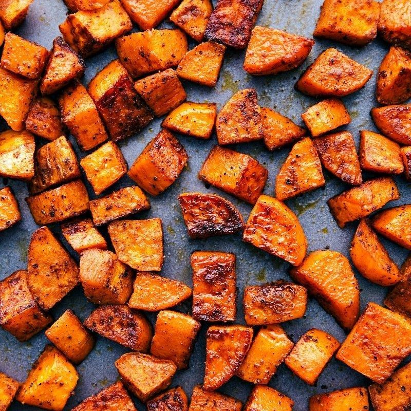 BULK PREPPED ROASTED SWEET POTATO