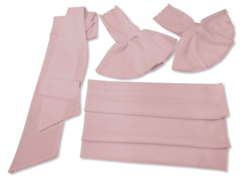 Our Versatile Cuffs & Sashes Set Feel Good Pink