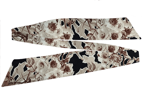 Our Versatile Cuffs & Sashes Set Natural Floral