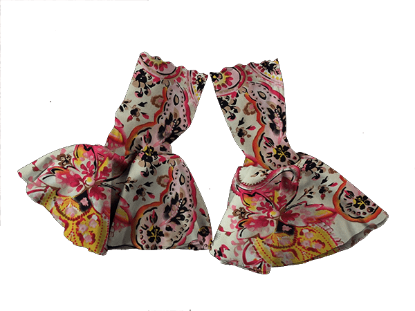 Our Versatile Cuffs & Sashes Set Posh Paisley