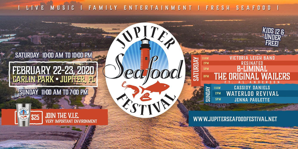 Saturday Feb 22 & 23 - Jupiter Seafood Festival