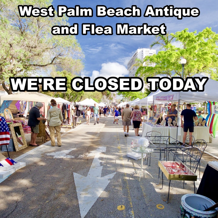 WPB Antique and Flea Market - 300 Block Clematis Street