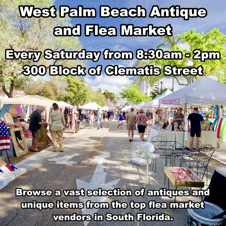 Saturday, Feb 15 - WPB Antique and Flea Market