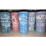 Handcrafted 24oz Painted Epoxy Tumblers - JUPdog