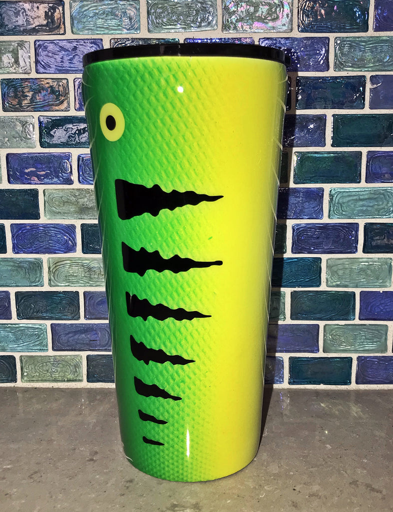 Handcrafted 20oz / 240z Fishing Lure Epoxy Tumblers
