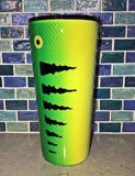 Handcrafted 20oz / 240z Fishing Lure Epoxy Tumblers - JUPdog