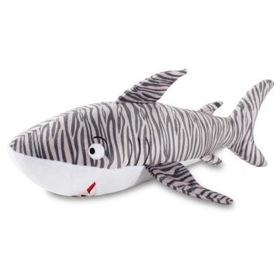 Tiger Shark Large Plush Dog Toy