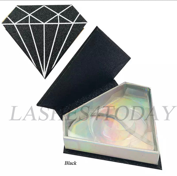 Black Diamond Eyelashes Case