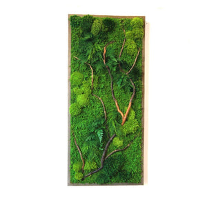 "Natural Barked Branch 40"" X 18"""