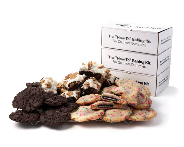 Best Sellers Bundle: S'mores Brownies + Monster Funfetti Cookies + Chocolate Cookies