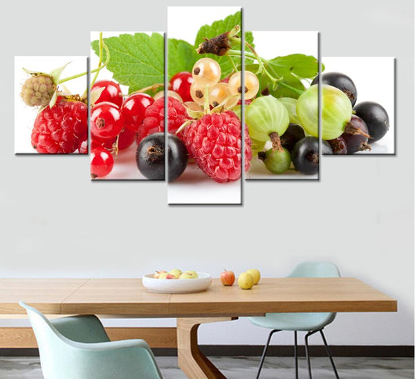 Jie Do Art Canvas Poster Fruit Painting Wall Pictures For Living Room Canvas Art Modular Wall Print Paintings Kitchen Decor