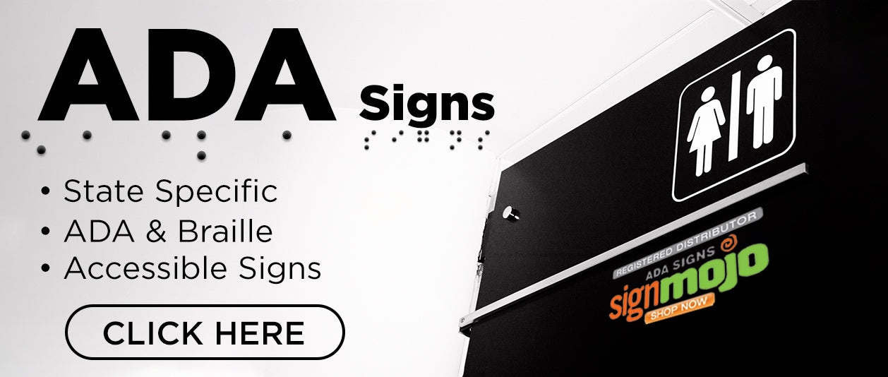 ADA Signs by SignMojo