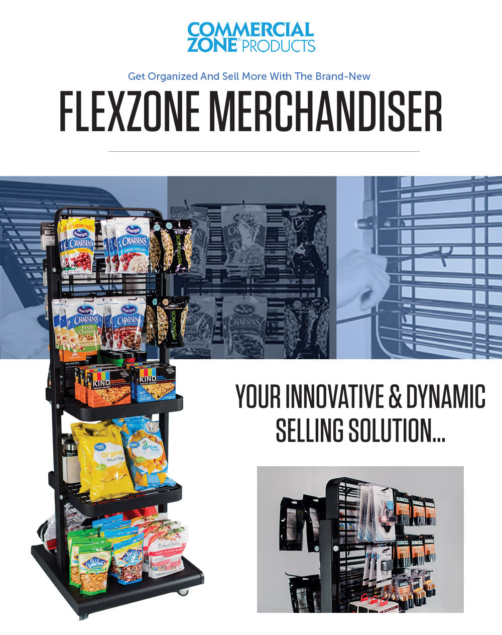 Flex Zone Merchandiser