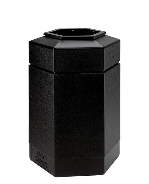 30 Gallon Open-Top Hex Container