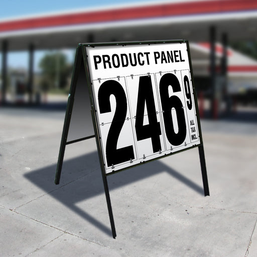 "24"" Flip Numbers- 1 Product, Double Sided A-Frame"