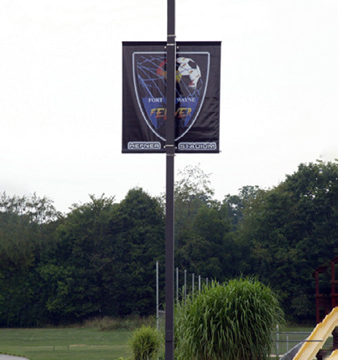 Street Pole Banner in situ