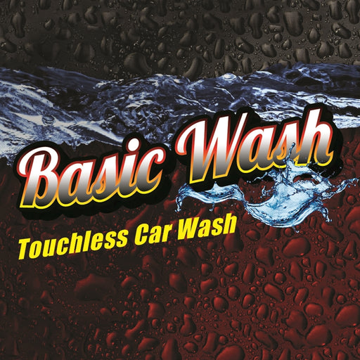 "Basic Wash- 12""w x 12""h Square Sign"
