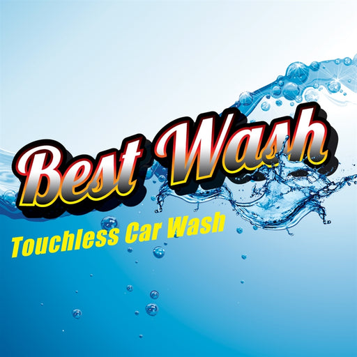 "Best Wash- 12""w x 12""h Square Sign"