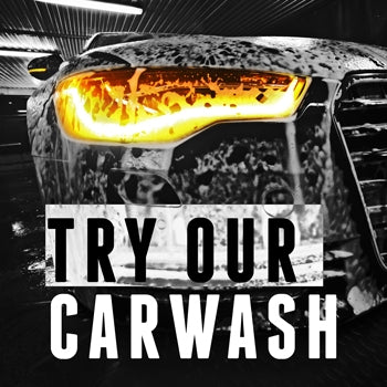 "Squarecade Panel- ""Try Our Car Wash"""