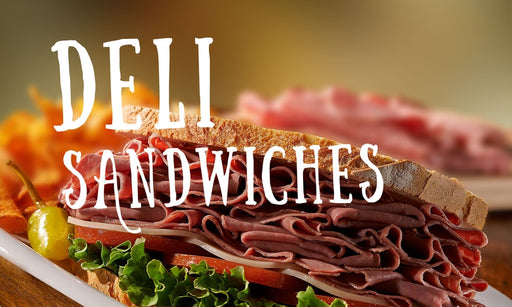 "Deli Sandwiches- 20""w x 12""h Ceiling Dangler"