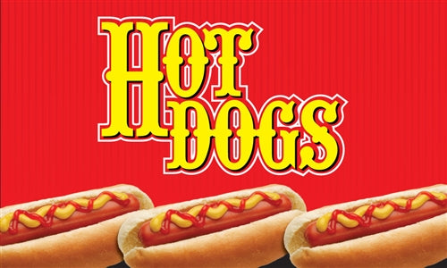 "Ceiling Dangler- ""Hot Dogs"""