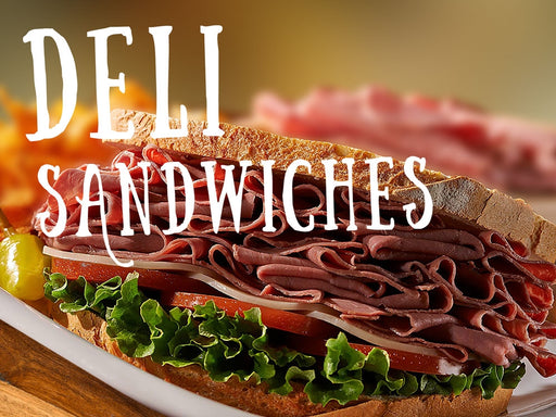 "Coroplast Yard Sign- ""Deli Sandwiches"""