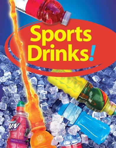 "Sports Drinks- 22""w x 28""h 4mm Coroplast Insert"
