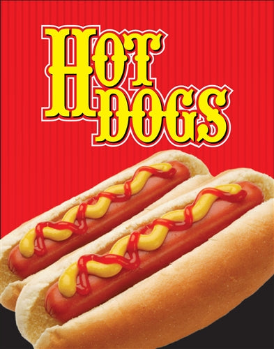 "Hot Dogs- 22""w x 28""h 4mm Coroplast Insert"