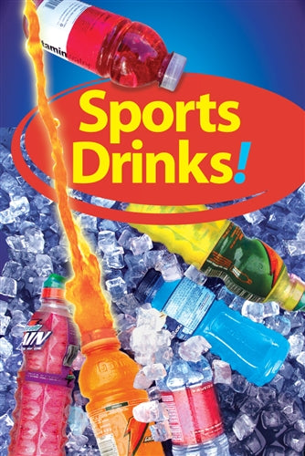 "Sport Drinks- 24""w x 36""h 4mm Coroplast Insert"