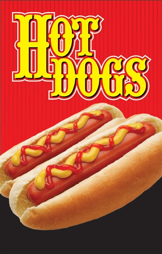 "Hot Dogs- 28""w x 44""h 4mm Coroplast Insert"