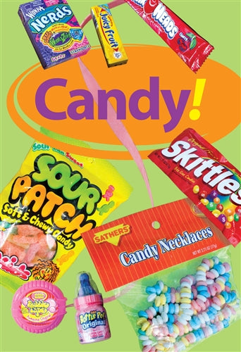 "Waste Container Insert- ""Candy"""